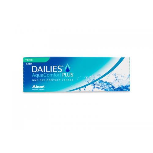 (行貨) DAILIES Aqua Comfort Plus Toric 每日即棄型隱形眼鏡 (散光)