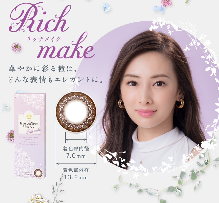 Seed Eye Coffret 1 day Rich Make